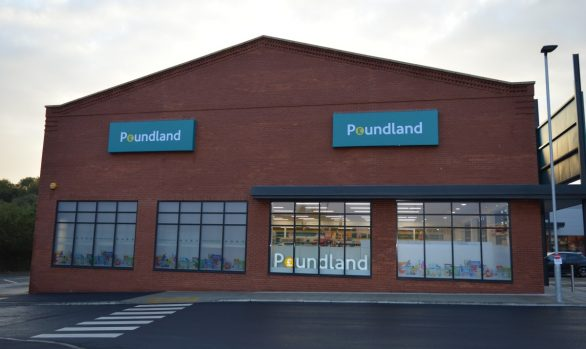 Poundland Light Store Front