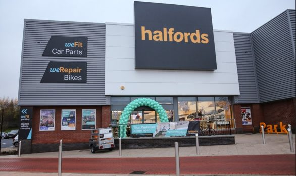 Halfords Store Front